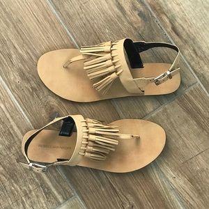 Gently worn, Rebecca Minkoff Erin Tassel Sandals